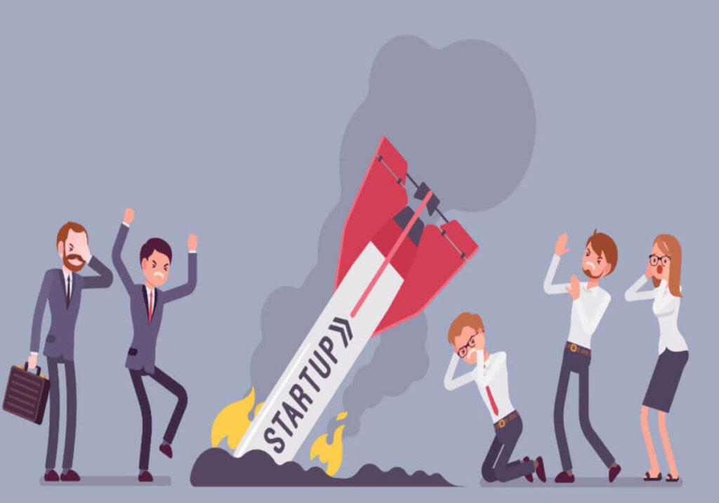 5 Reasons Startups Fails